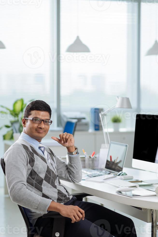 Manager financier photo