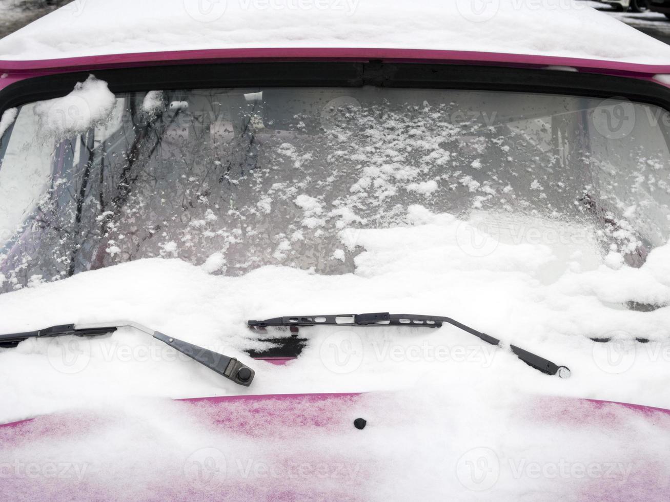 voiture d'hiver photo
