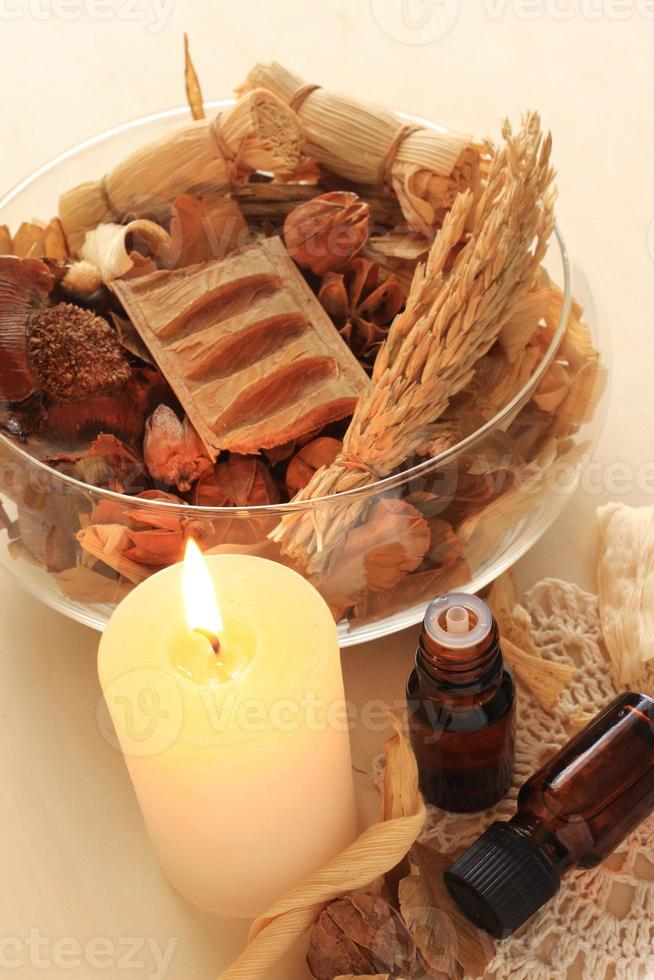 aromathérapie d'hiver photo