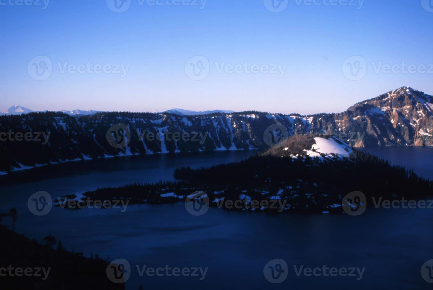 lac de cratère photo