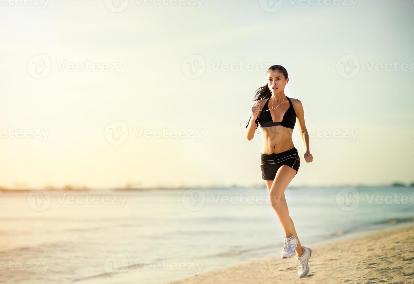 femme qui court photo