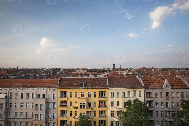 vues sur les toits de Berlin photo
