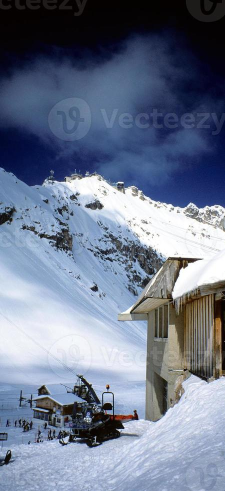 pente de ski photo