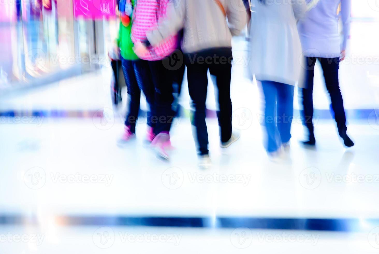 promenade des voyageurs d'affaires photo