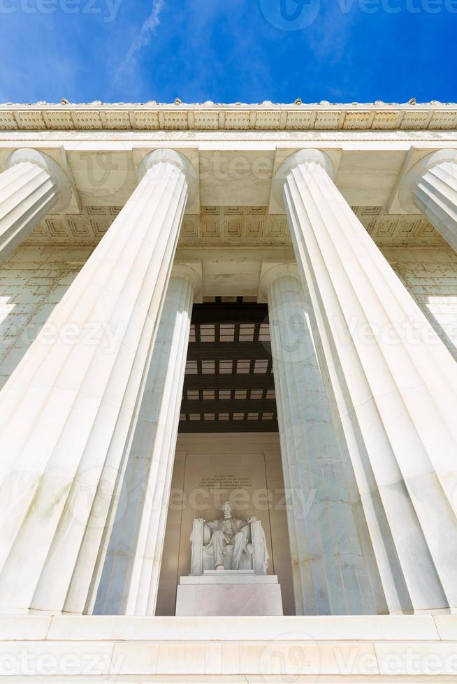 bâtiment commémoratif abraham lincoln washington dc photo