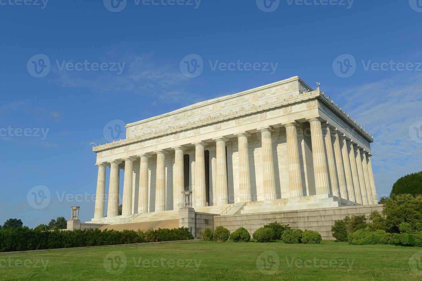 Lincoln Memorial à Washington DC, États-Unis photo