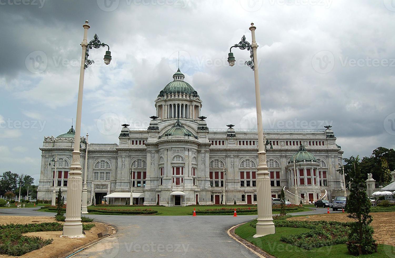 Salle du trône d'Ananta Samakhom, Thaïlande photo