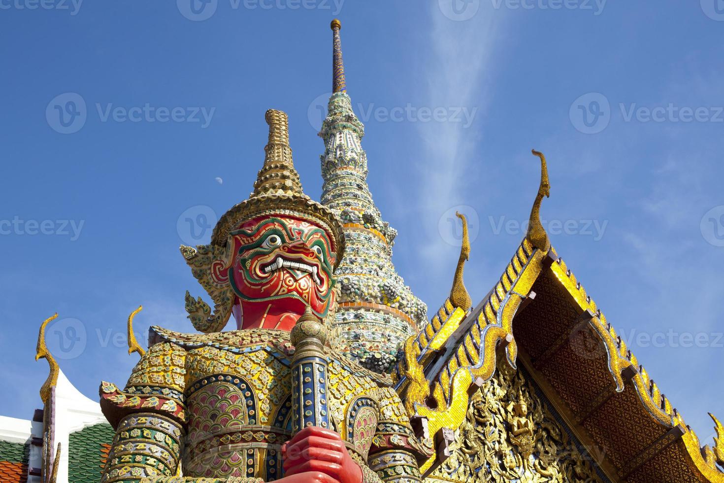 le gardien du démon, bangkok photo