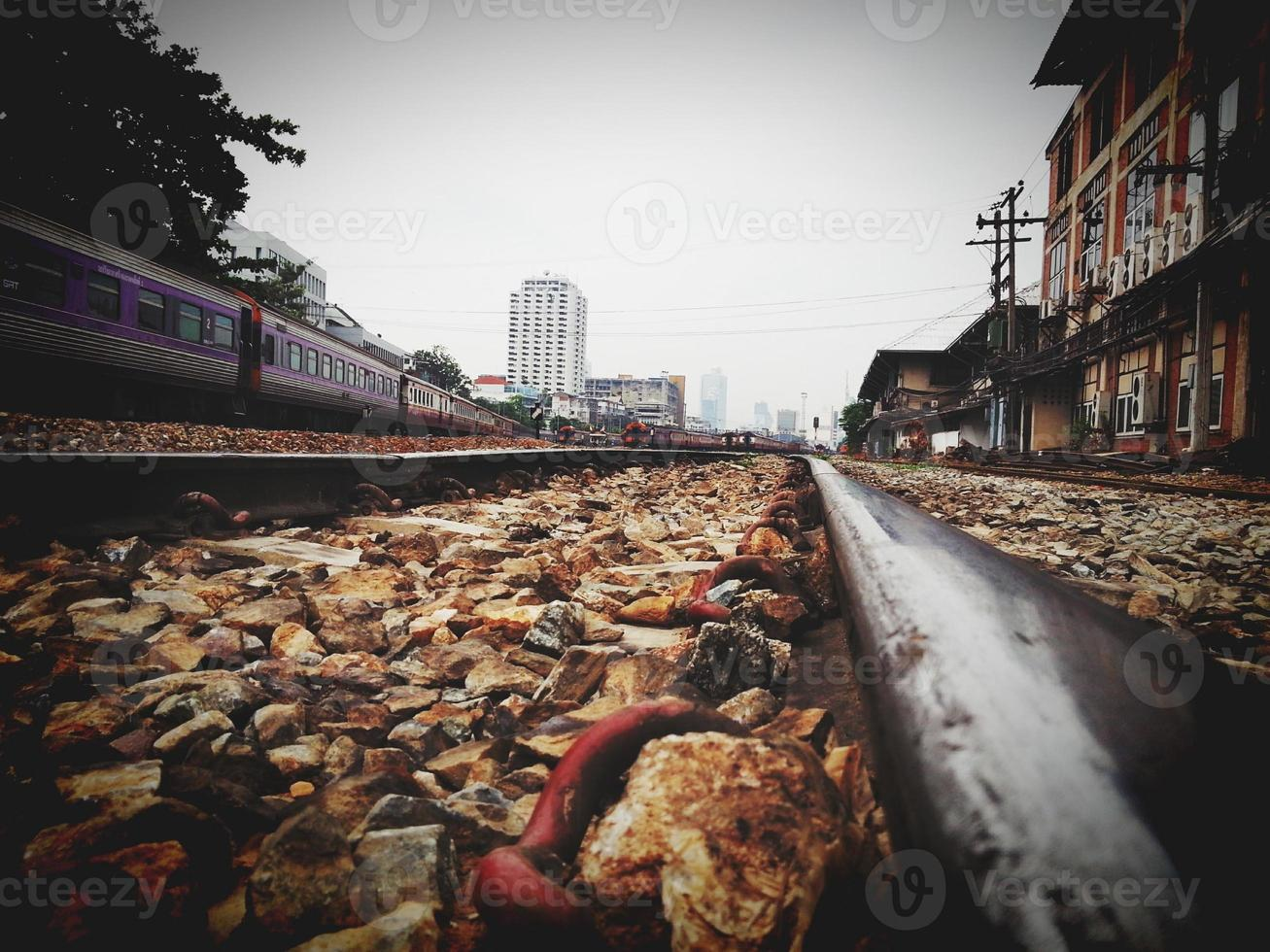 chemin de fer de la Thaïlande photo