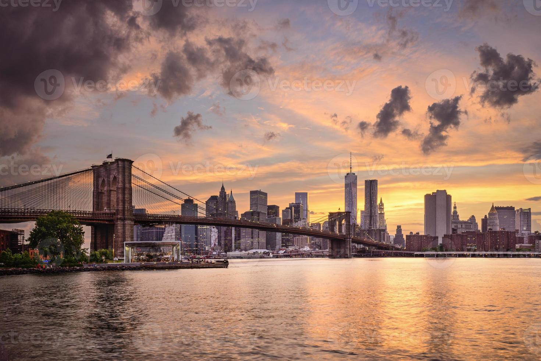 toits de la ville de new york photo