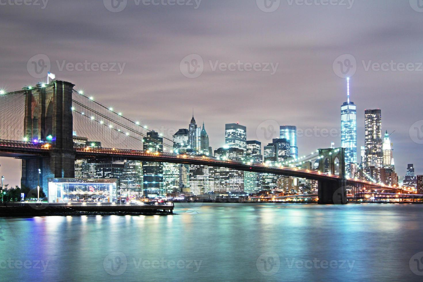 pont de brooklyn à new york photo