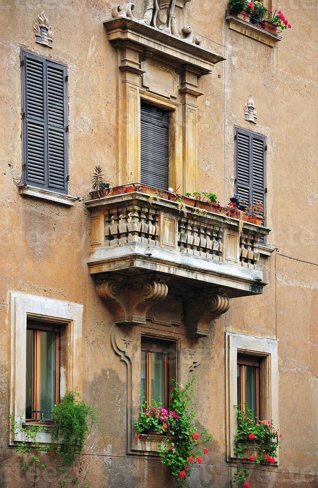 façade, rome photo