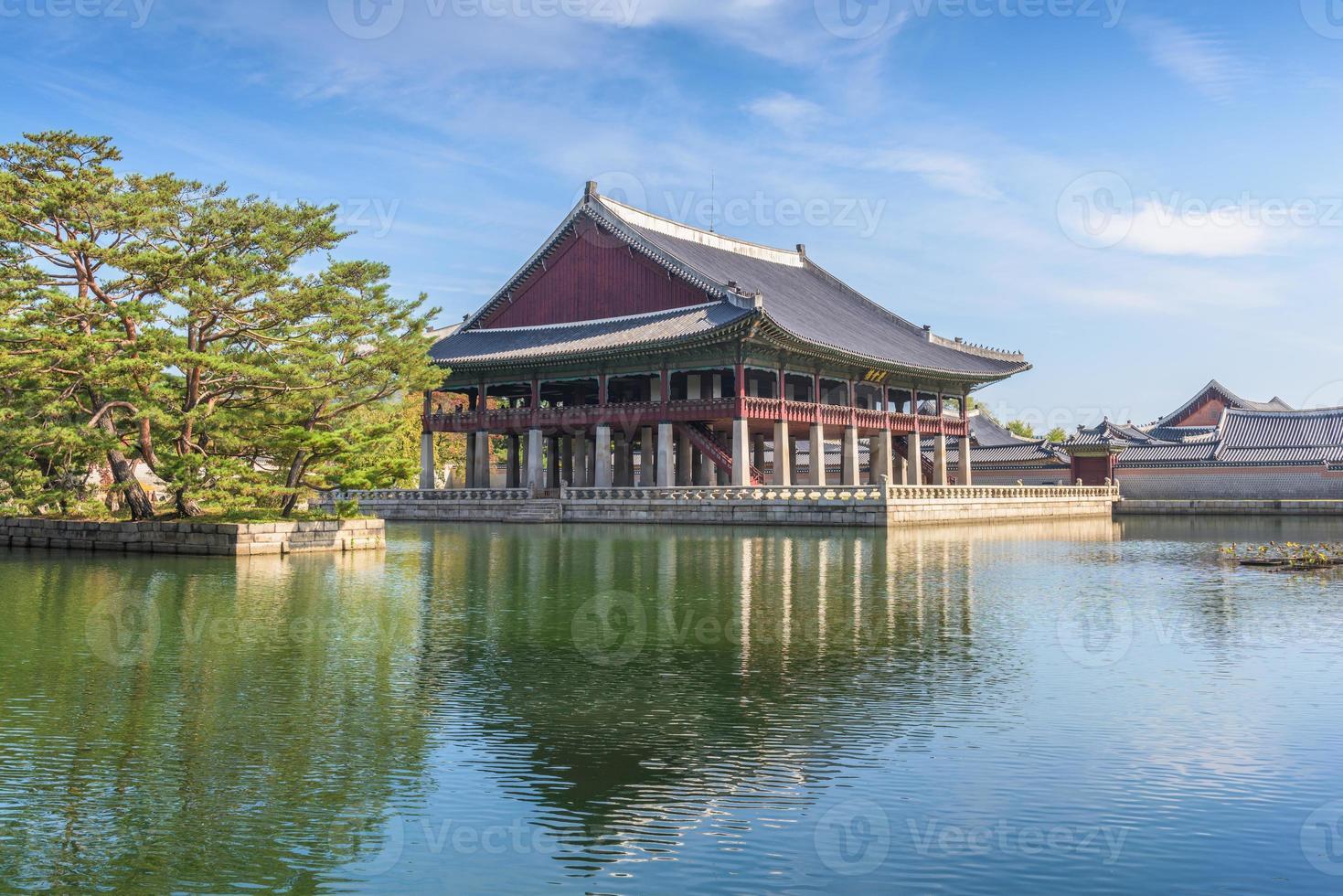 Palais de Gyeongbokgung à Séoul, Corée du Sud photo