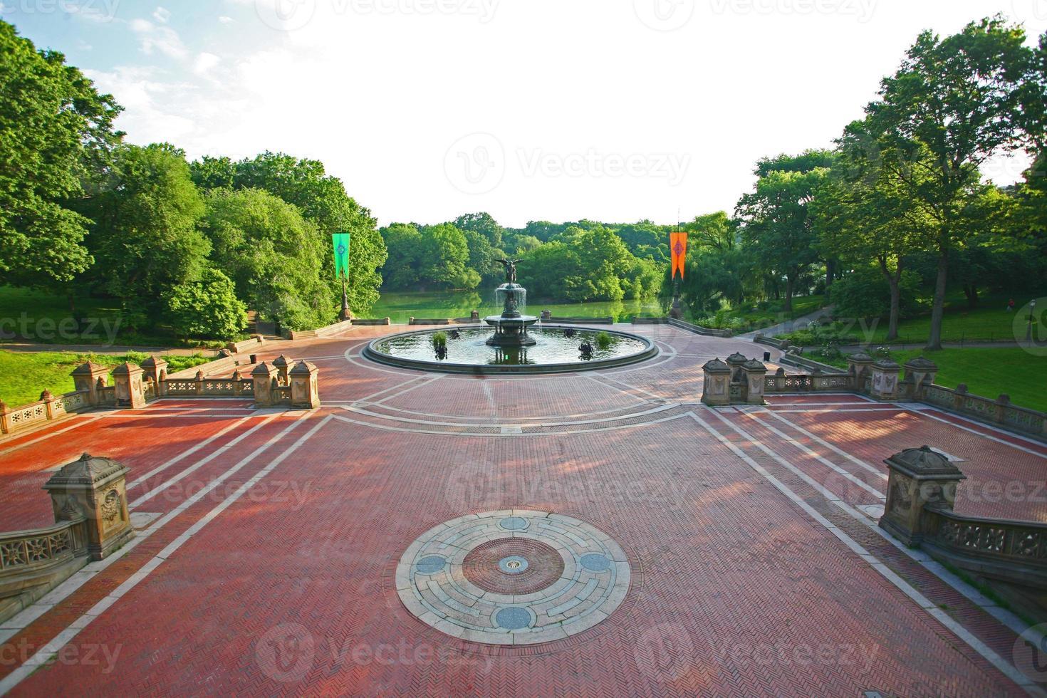 terrasse bethesda, central park, new york photo
