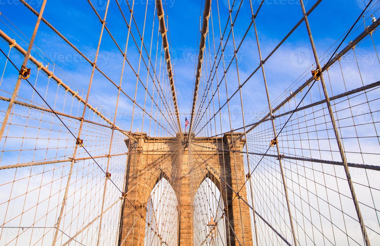le pont de brooklyn, new york city, usa photo