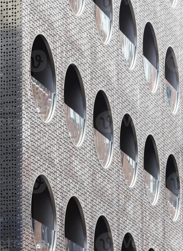 Détail de la façade de l'hôtel Dream Downtown, Manhattan, New York photo