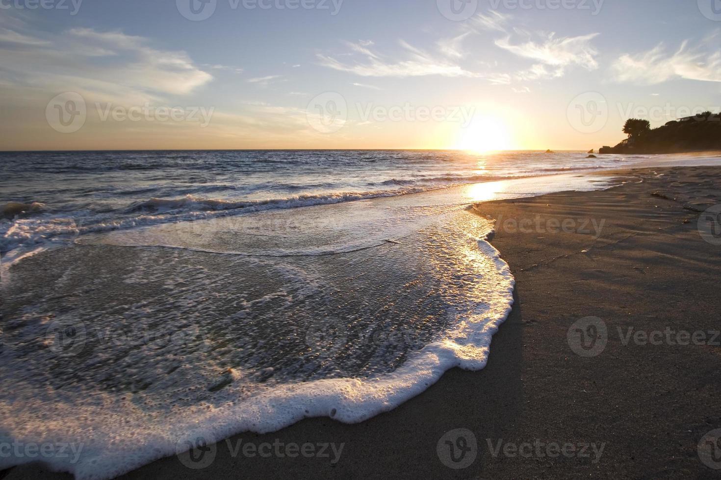 coucher de soleil malibu photo