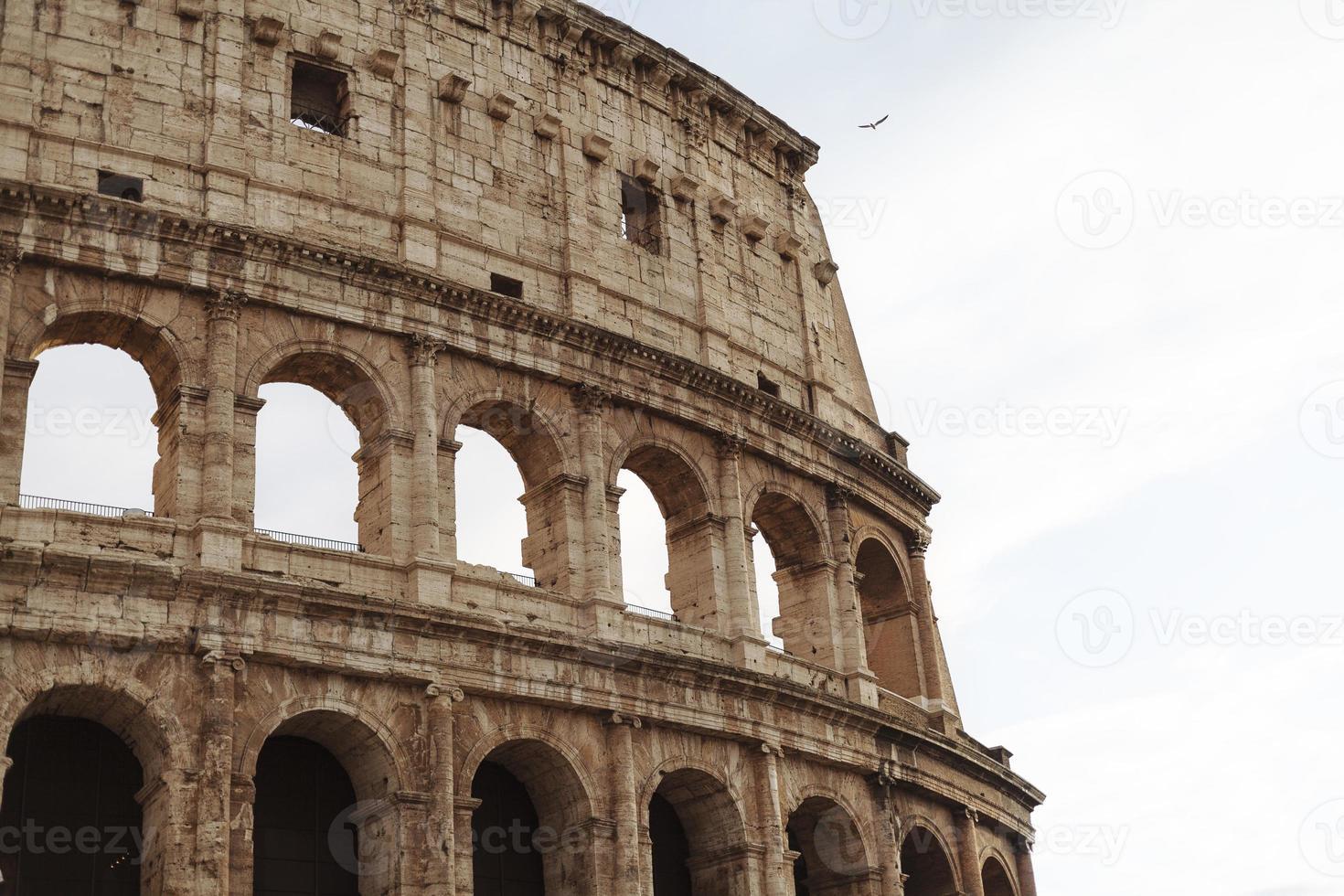 colisée à rome italie photo