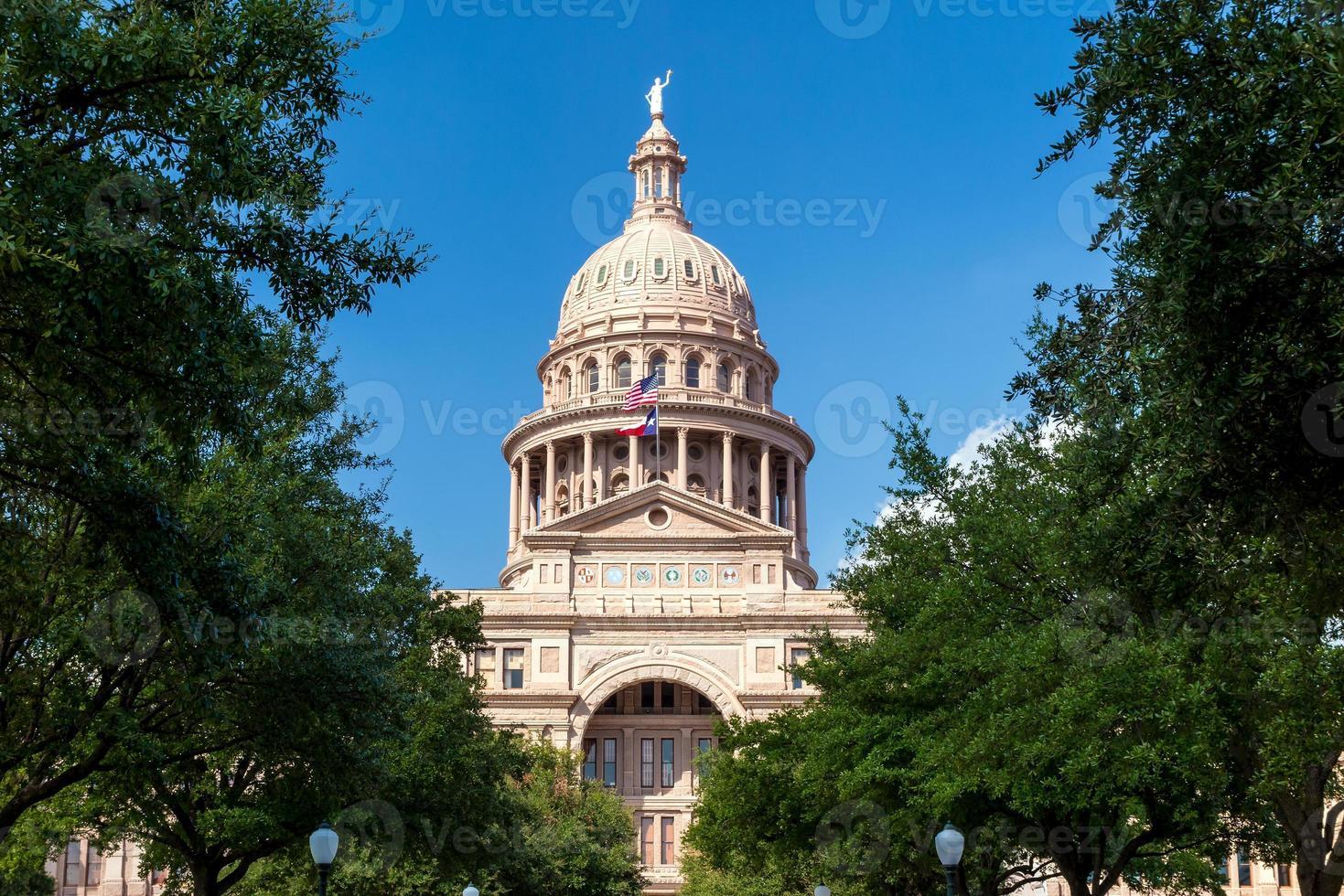 Bâtiment du Capitole de l'État du Texas à Austin photo