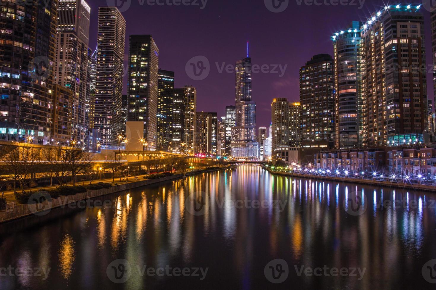 rivière chicago - tour d'atout photo