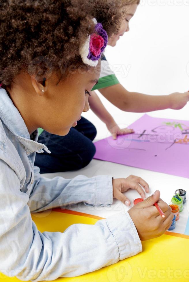 enfants créatifs photo