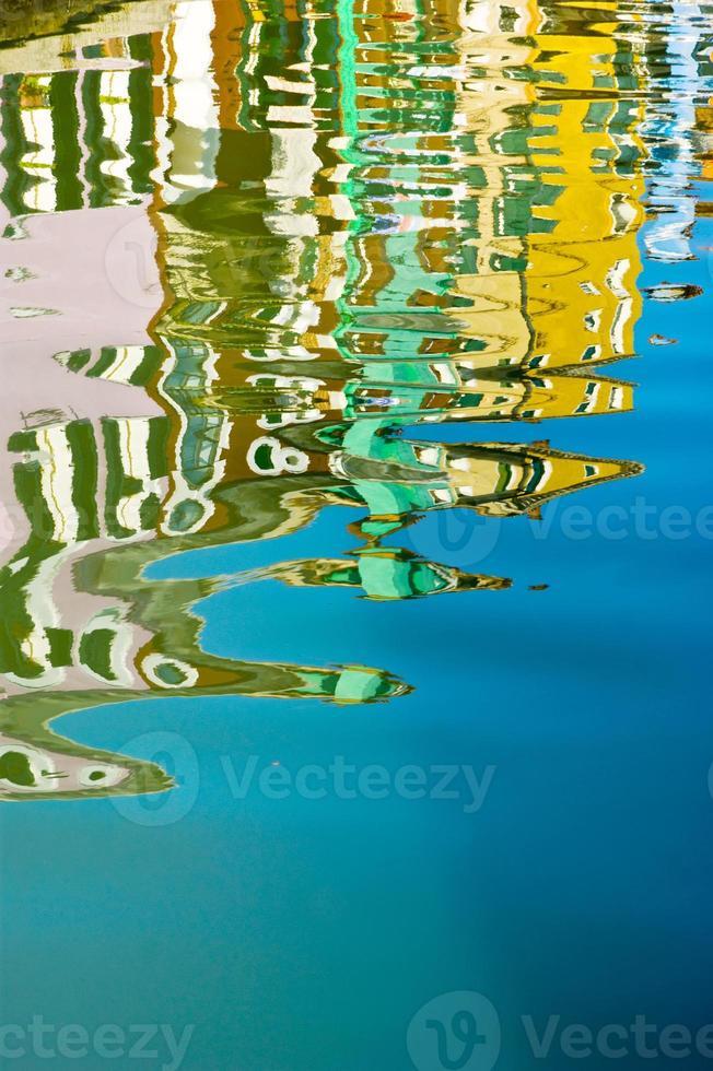 reflet dans l'eau photo