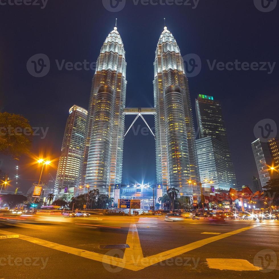 Tours jumelles Petronas à Kuala Lumpur, Malaisie photo