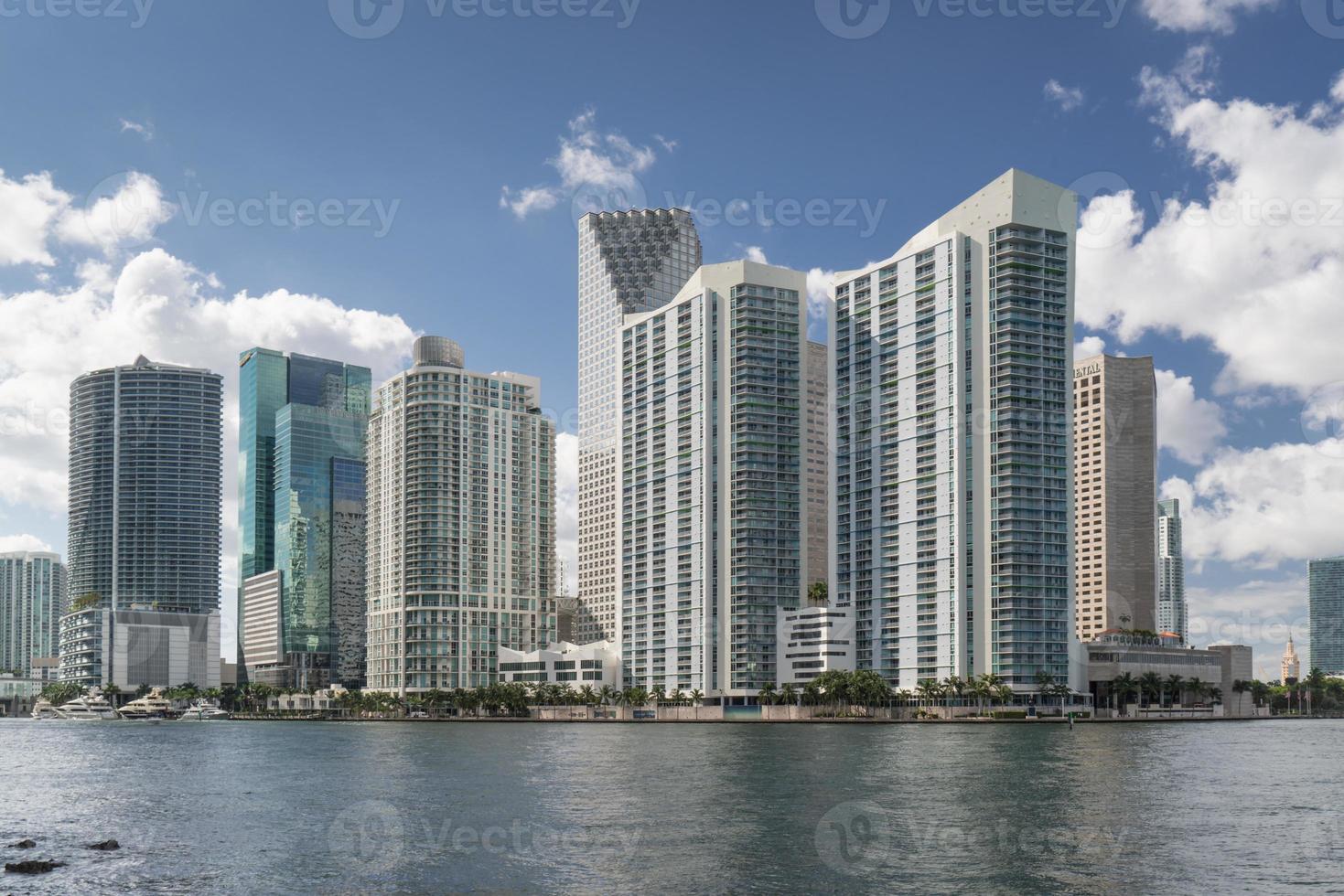 Skyline de Miami de jour photo