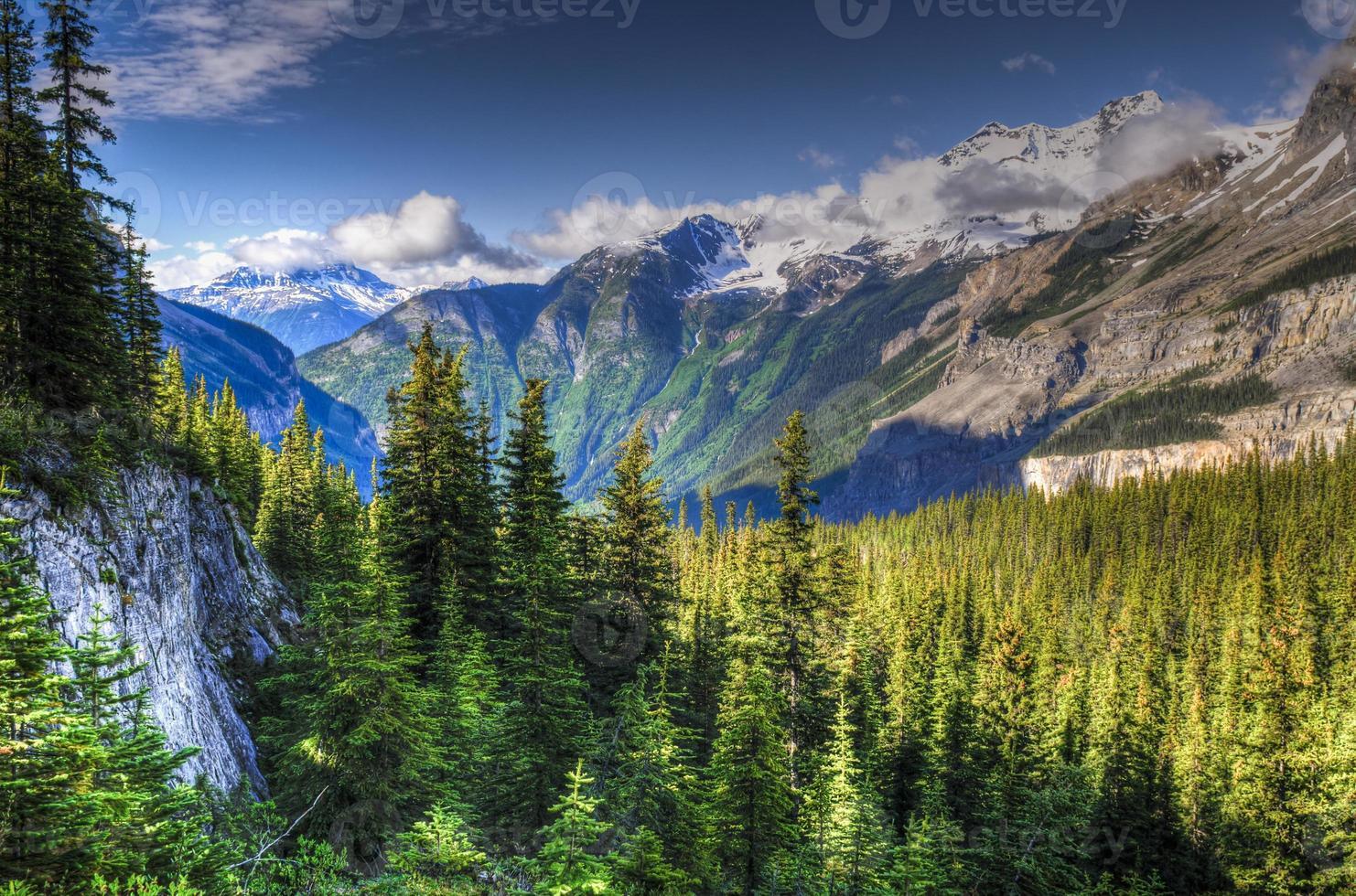randonnée berg lake trail photo
