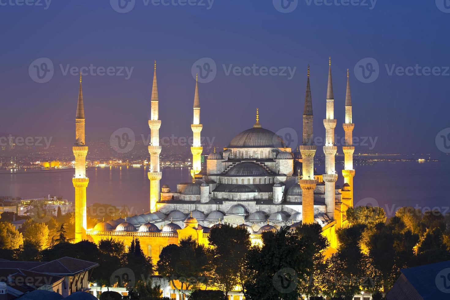 mosquée bleue à istanbul photo