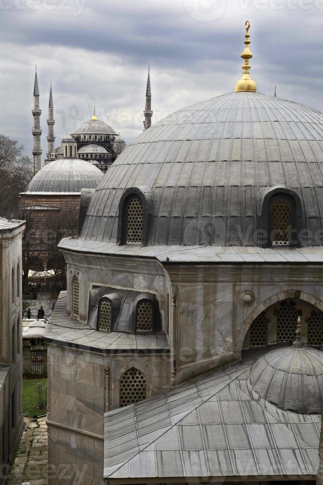 mosquée bleue, istanbul, turquie photo