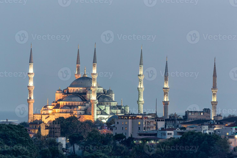 Sultan Ahmet Camii - Mosquée bleue à Istanbul, Turquie. photo