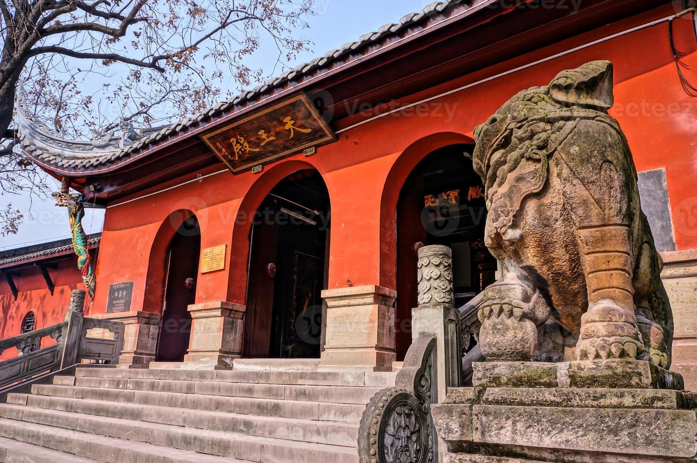 Temple Huayan, Chongqng, Chine photo