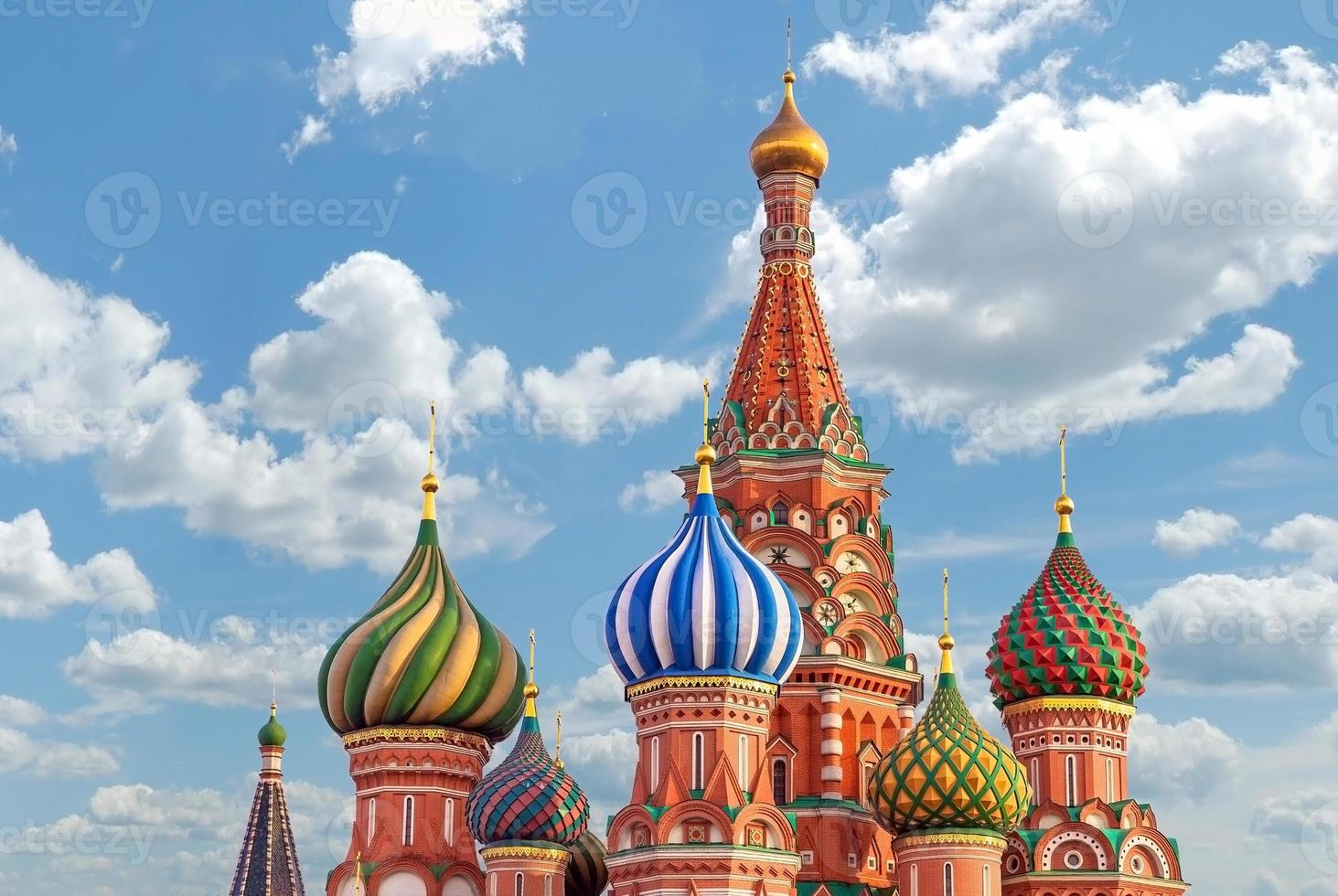 Moscou. cathédrale st.basil photo
