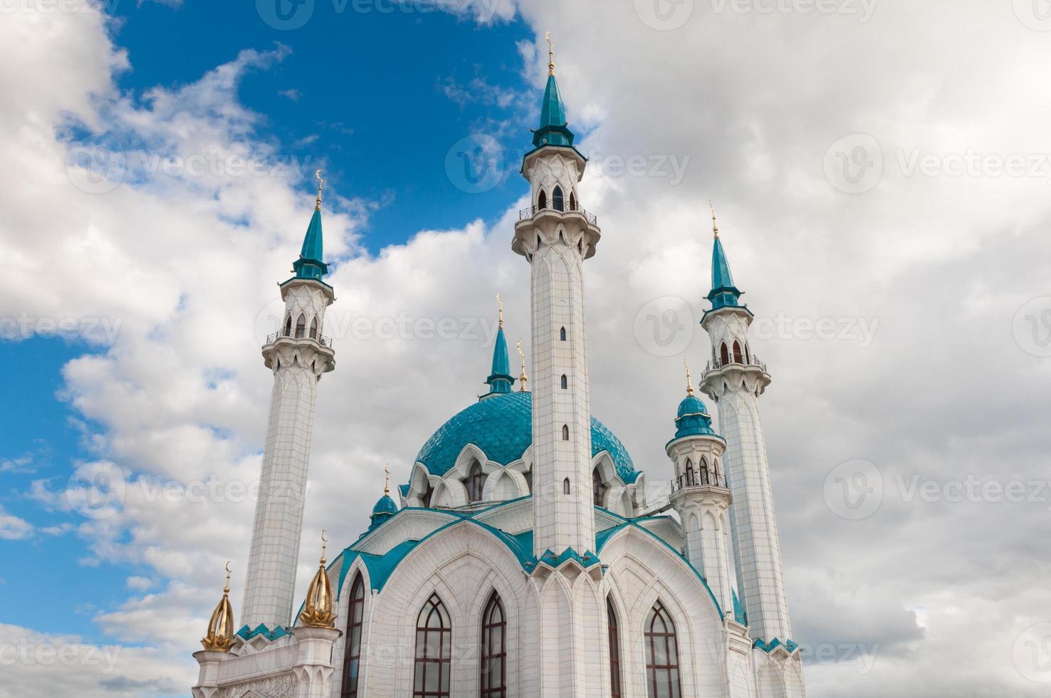 La mosquée kul sharif à kazan kremlin, tatarstan, russie photo