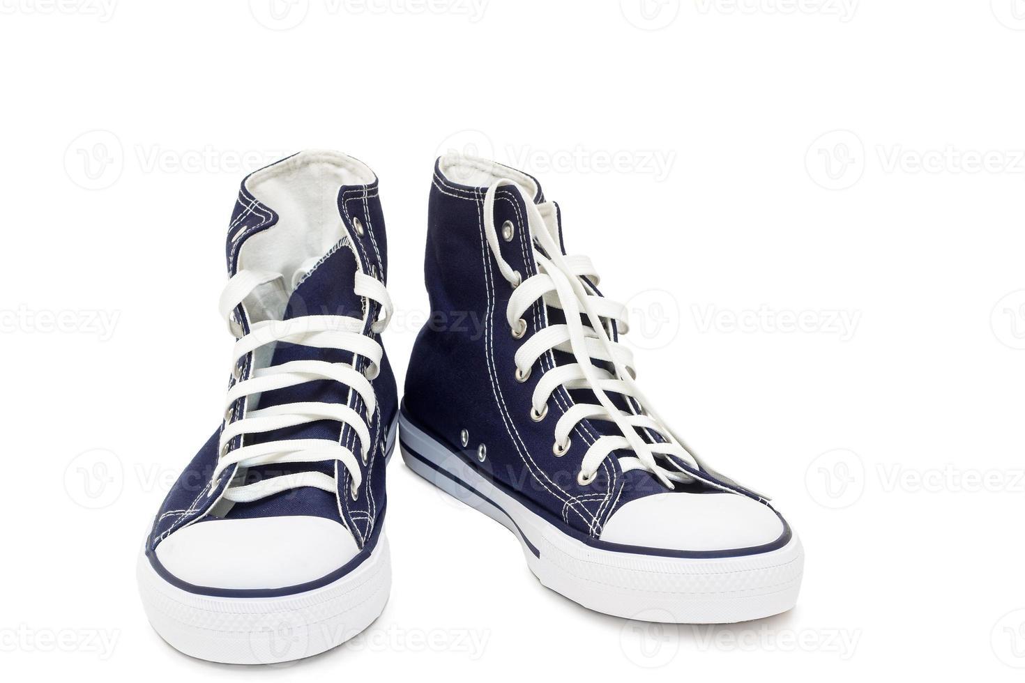 chaussures de sport - baskets pour hommes sur fond blanc. photo