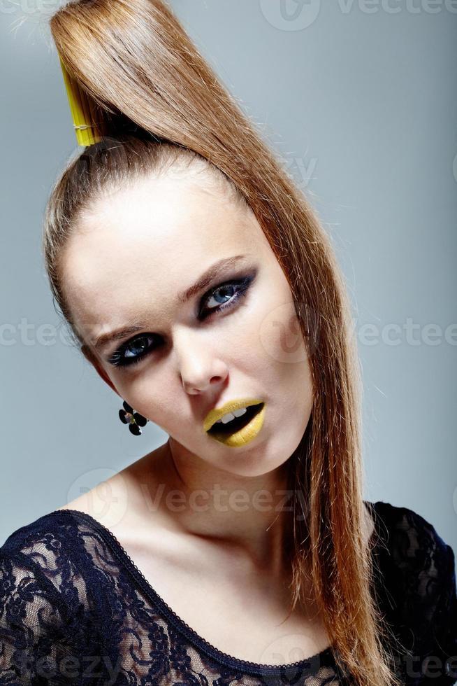 femme glamour photo