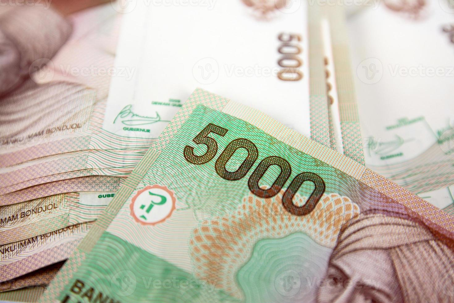 argent de l'Indonésie photo