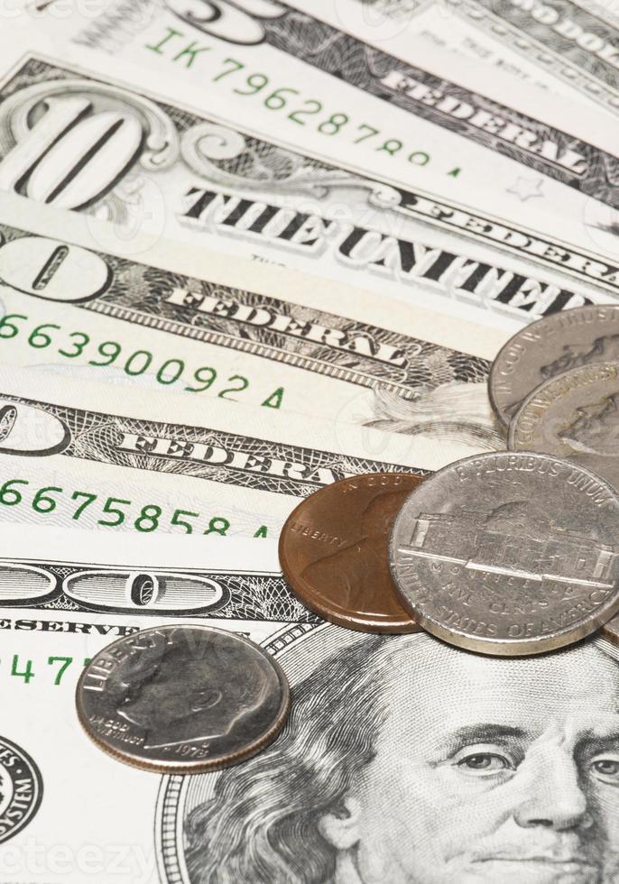 argent. dollars américains photo