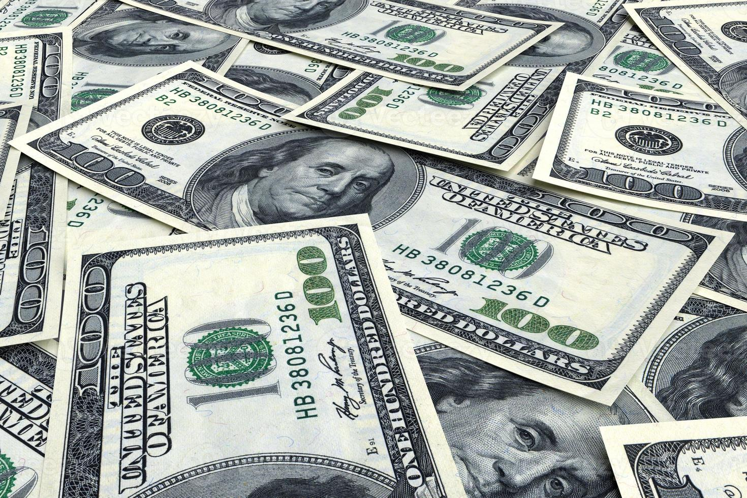 fond d'argent de dollars photo