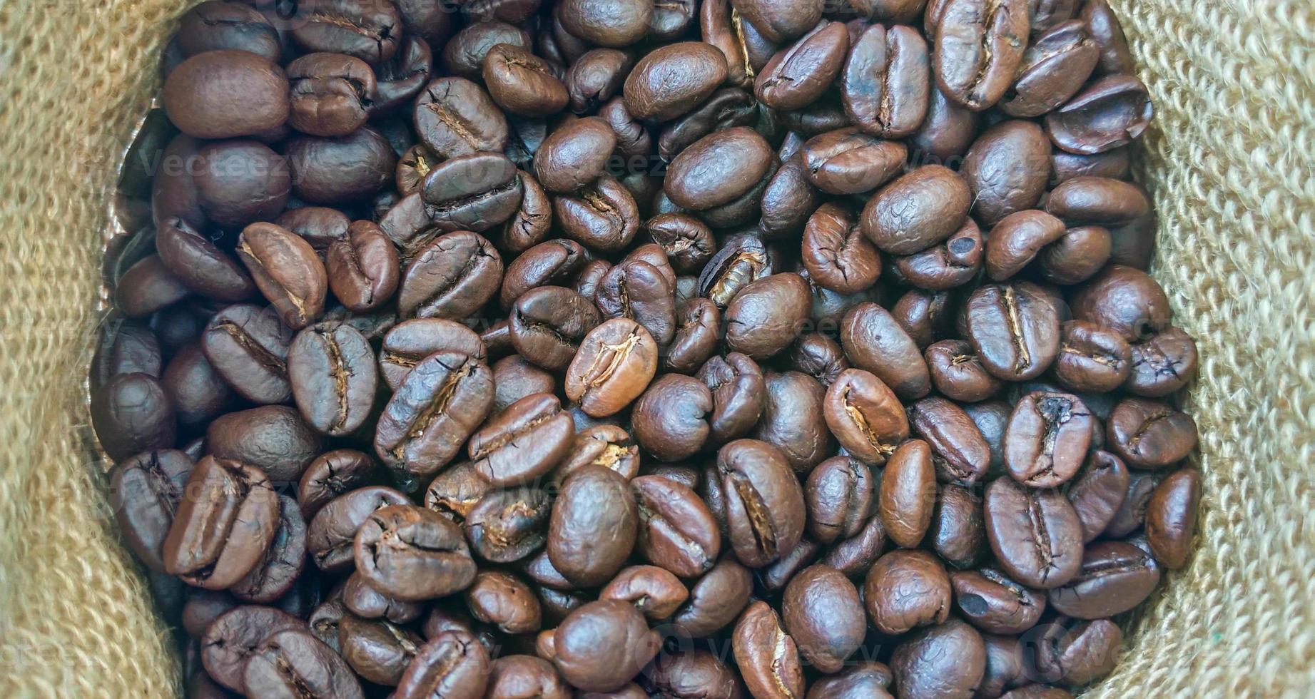 sac de fond de café photo