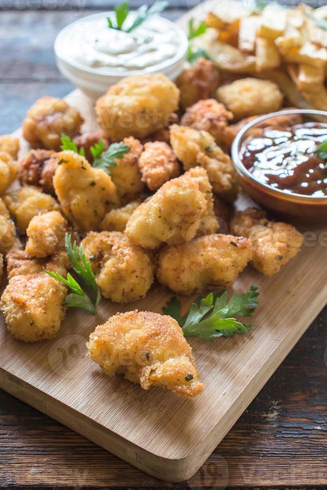 Nuggets de poulet photo