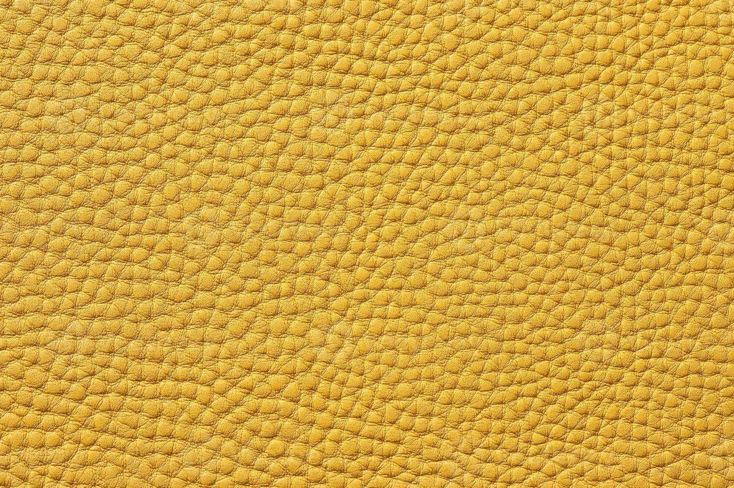 Gros Plan De La Texture De Cuir Jaune Transparente Banque De Photos