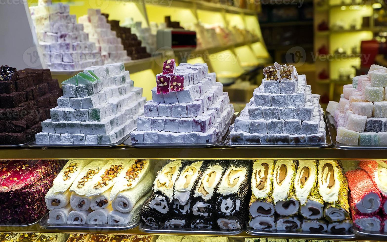 bonbons orientaux i photo