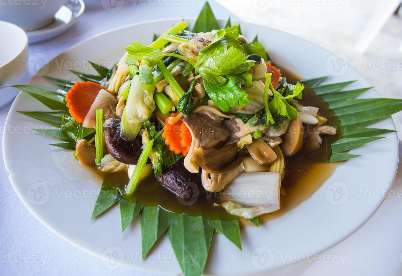 tofu tofu et légumes photo