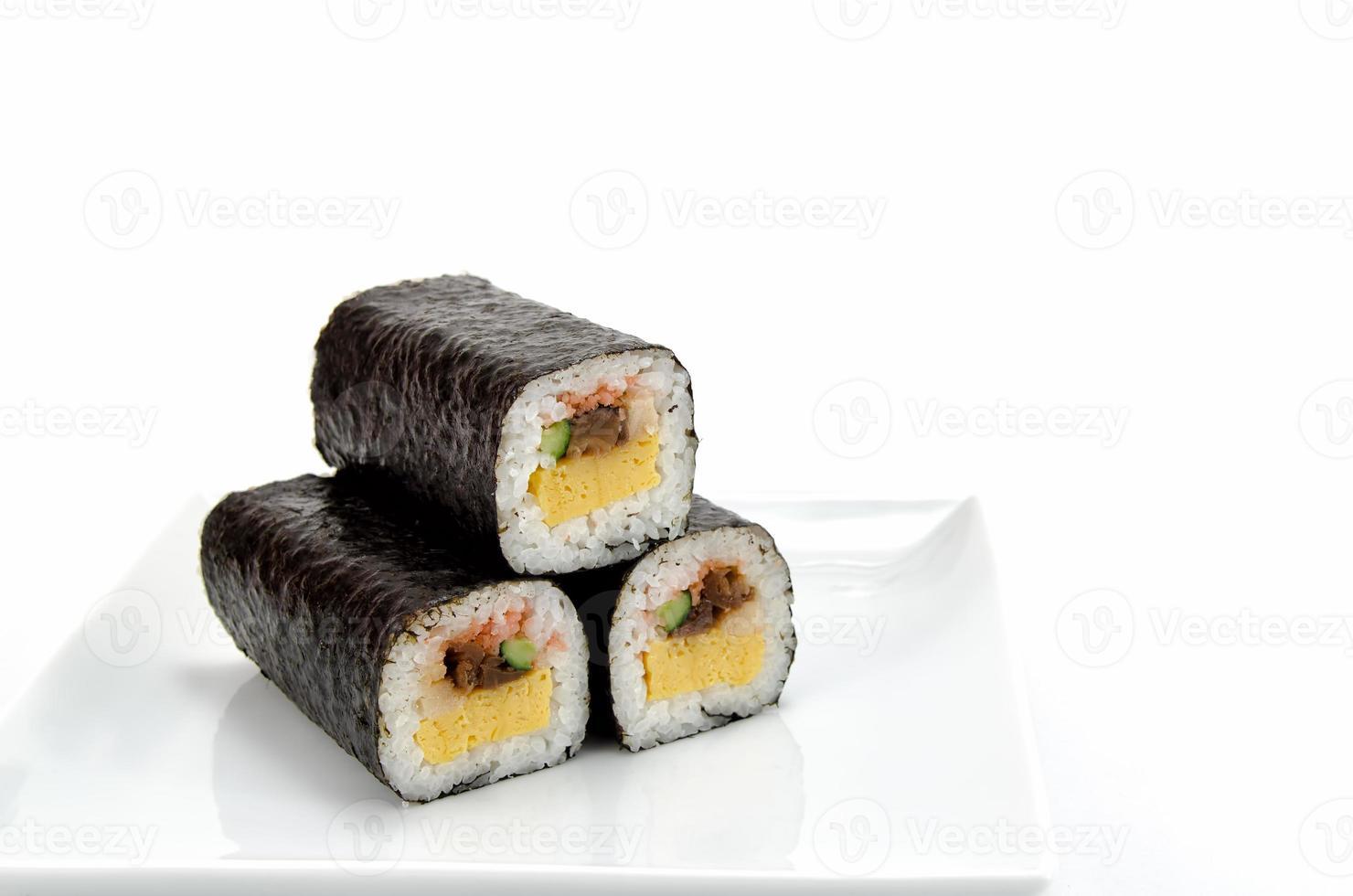 sushi roulé photo