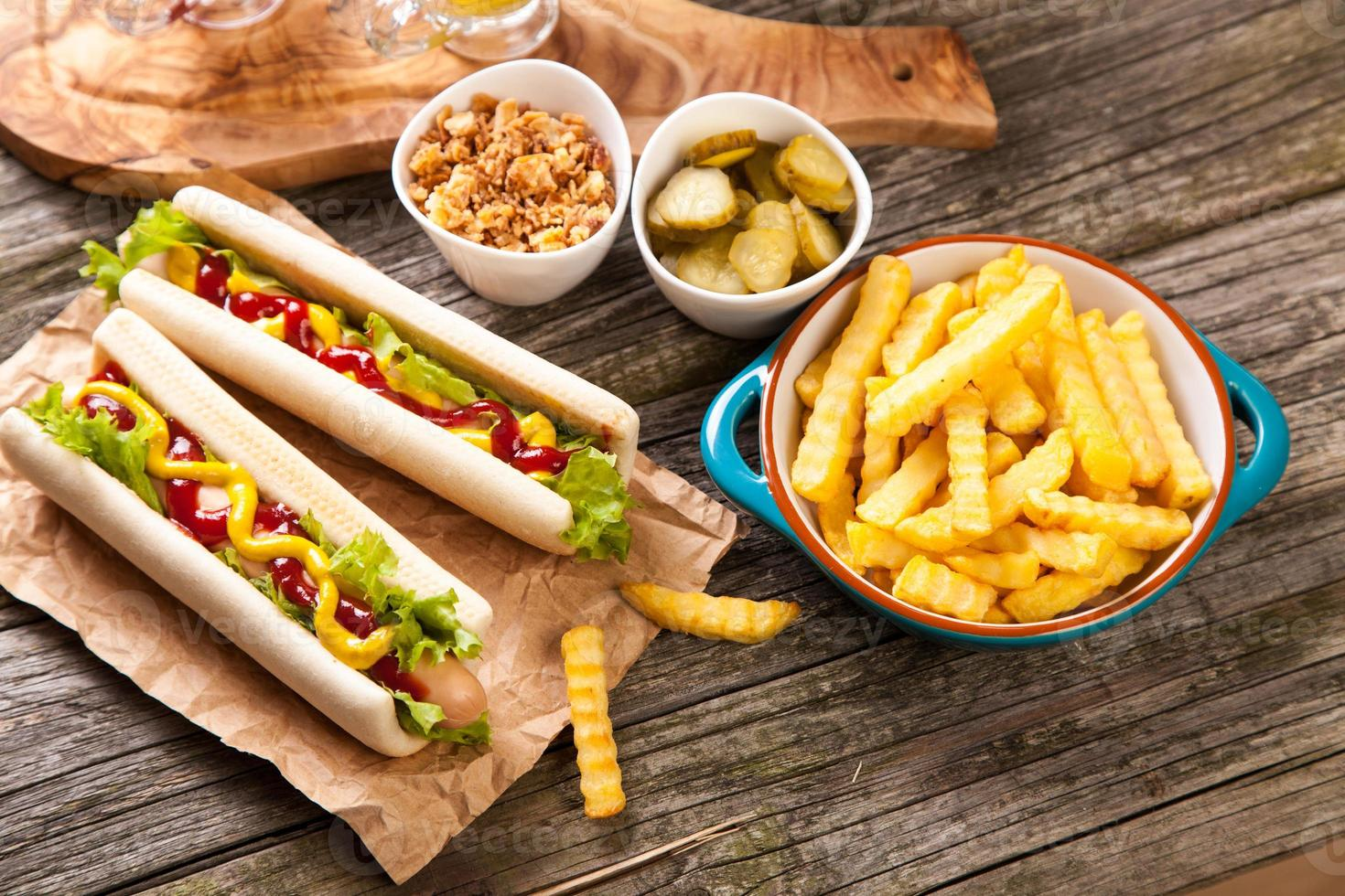 les hot-dogs photo