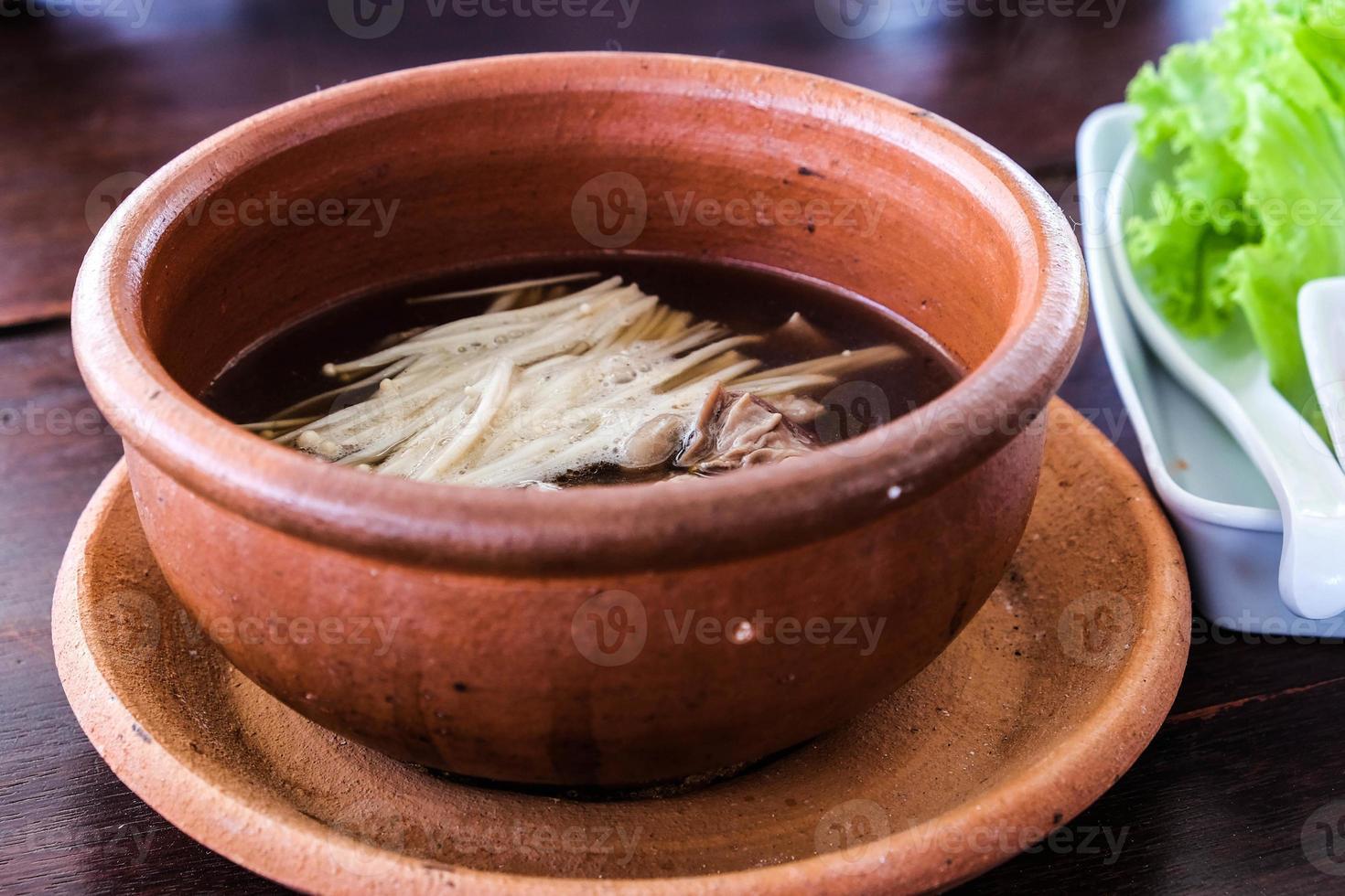 soupe de boeuf photo