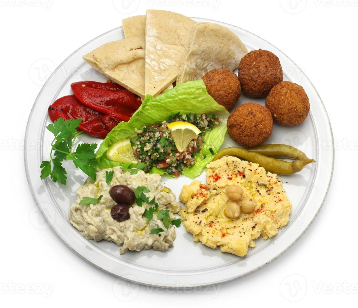 cuisine du Moyen-Orient photo