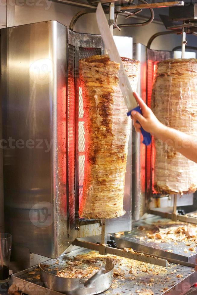 gyroscopes de kebab. photo